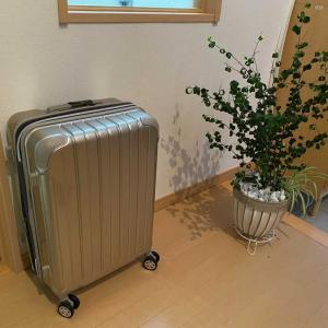 スーツケース買いました