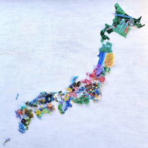 海洋プラスチック問題を可視化!日本全国からゴミを集めた『美ら海プロジェクト』