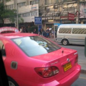 風景を見ていた:バンコクの街中