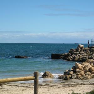 風景を見ていた:パース フリーマントルから見るインド洋