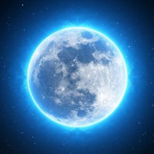 満月でおめでとう