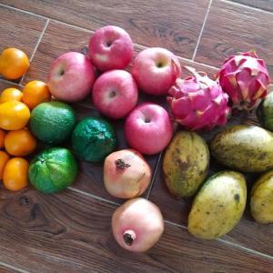 果物の安さがありがたい