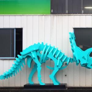 上尾市・ニッサン通りの川島製作所が作った恐竜と観覧車がすごい【写真日記】