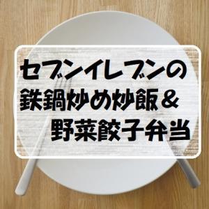 セブンイレブンの鉄鍋炒め炒飯&野菜餃子弁当が理想の組み合わせでヘヴィロテです