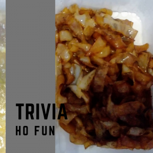 Ho Fun(河粉)とは もちもちの食感が楽しい!実はフォーやクイティオも同じ!