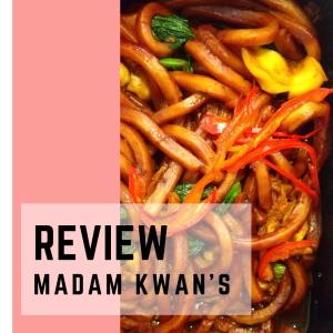 【レビュー】Madam Kwan's(マダムクワンズ)のHokkien Fried Noodle