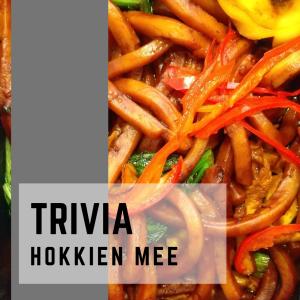 ホッケン・ミー(Hokkien mee)とは 地域により焼きそばや汁そばに変化する麺!