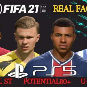 【FIFA21】U-23 ポテンシャル80以上固有フェイス選手(FW編)