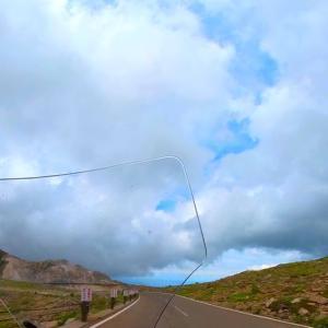 国道121号線を北上し磐梯吾妻スカイラインを通って磐梯山と浄土平を堪能したツーリング