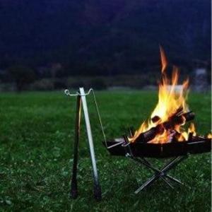 【超便利】『ユニフレーム:焚き火台』いろんなオプションパーツを付けることができ用途の幅が広い!