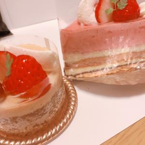 久しぶりのケーキ屋さんのケーキ(*^^*)