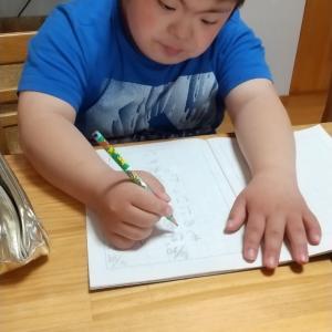 字の練習として日記を書き始めたダウン症児