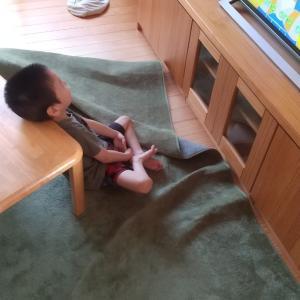 障害児三男の生きていくために編み出した技!