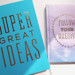 夢とアイディアが浮かんだ時は☆彡