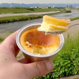[お持ち帰り #06] 京都 向日市 パティスリーれ・れ・れ。ベイクドチーズ ごまケーキ