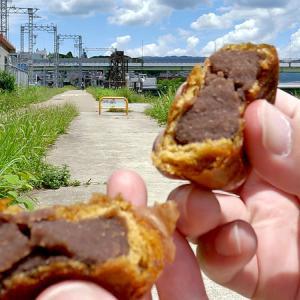 [おみやげ #06] 京都 宇治 満月堂。宇治川で拾った幸福の石