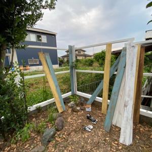 ウッドフェンス計画14 (2021/6/18)