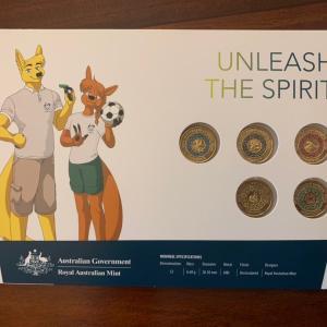 オーストラリアのオリンピック記念コインをゲットしてきた