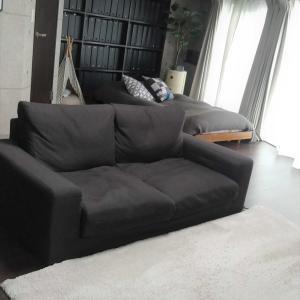 無印のソファーにピッタリのカバー