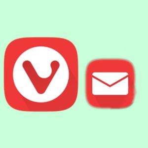 【Vivaldi】Vivaldiウェブメールの使い方。メールアプリに登録する方法