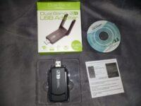 【WiFi 無線LAN 親機&子機】2.4G&5GHz デュアルバンド _Aigital JP-4605