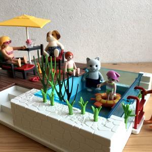 【プレイモービル】Swimming Pool with Terrace 5575で遊ぶ