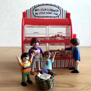 【フライングタイガー】マイリトル スウィート ショップのキャンディコンテナで遊ぶ