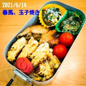 今日のお弁当(2021/6/14)