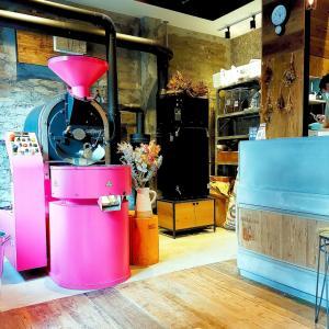 浅草 ピンクのロースターがかわいい!フェブラリーコーヒーロースタリーの美味しいコーヒーと焼き菓子