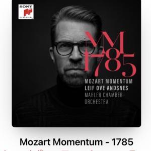 アンスネスによるMozart Momentum -1785 ピアノ協奏曲第20、21、22番ほか
