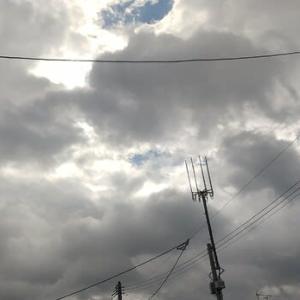 久しぶりの積雲⛅