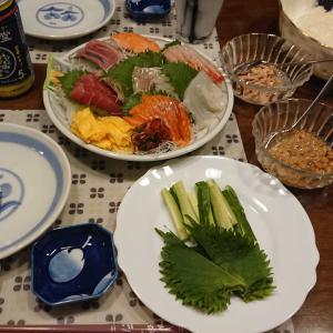 メルカリ講座と昨日の晩御飯