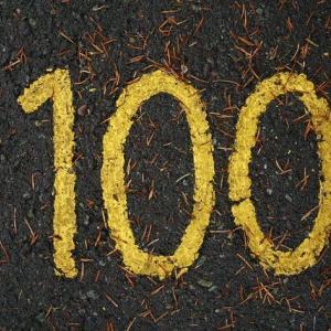 100記事達成、全員に感謝を