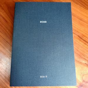 来年の手帳は「EDiT」に決めました。