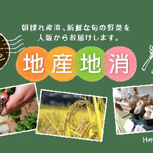 大阪の新鮮な野菜が楽しめる!八百屋さんとカフェの「はっぴ~べじたぶる」