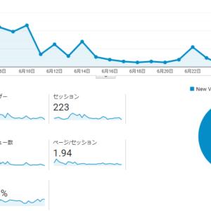 【雑記ブログ運営報告】 3ヶ月目 – 『魔の3ヶ月目』に突入しました(2021年6月)