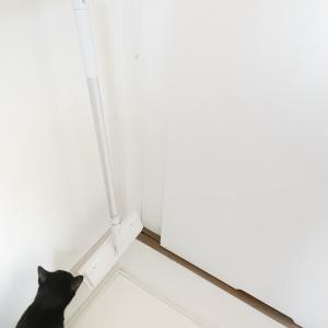 フローリングモップwith猫