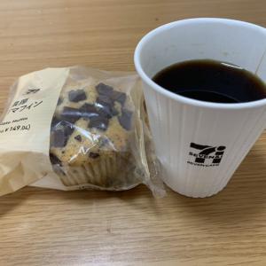 期間工の休日の朝食☕️