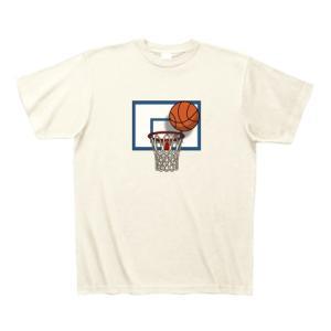 バスケットボールが好きな人におすすめのTシャツ