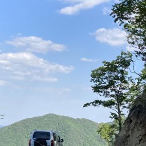 猿神山・小吹山の林道 岡山県新見市