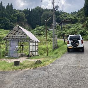 志水柿の湧水 兵庫県豊岡市