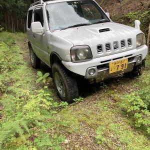 林道大滝線 鳥取県八頭町