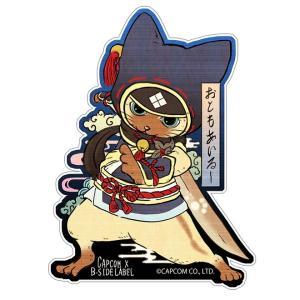 【MHRise】B-SIDE LABELとのコラボステッカーが9月22日に発売予定! 浮世絵風やかわいいデフォルメタッチなど全14種!【モンハンライズ】