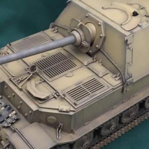 黒森峰女学園 エレファント重駆逐戦車 タミヤ1/35 エレファント使用