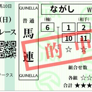 【7月5週結果】クイーンS完全的中!〜僕と戸崎騎手の12時間戦争②