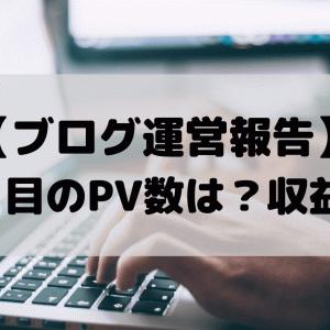 【ブログ運営報告】ブログ開設1ヶ月のPV数は?収益は?
