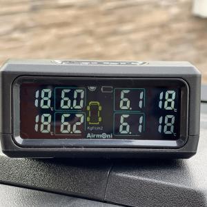 キャンピングカーADRIAタイヤ空気圧の管理(Airmoni4導入)