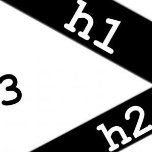 【Cocoon2021】h1,h2,h3投稿記事の書き方・SEOに強いh1.h2見出しタグ