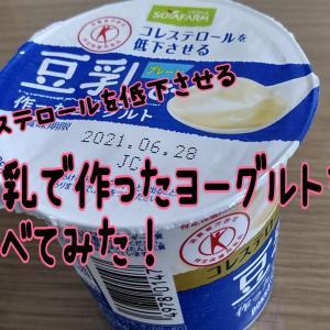 乳アレルギーっ子とコレステロールを低下させる豆乳で作ったヨーグルトを食べてみた!