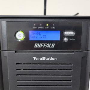 【NAS】BuffaloのNAS(TS-XHL)をSMB2対応に変更する